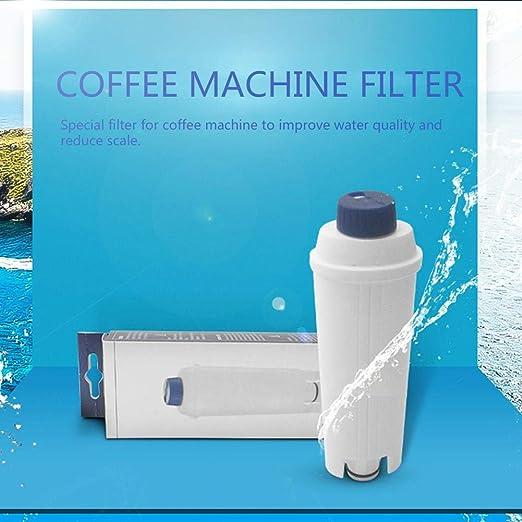 Delonghi Filtro de agua, 16,8 6,3 4,4 cm, cartucho de carbón ...