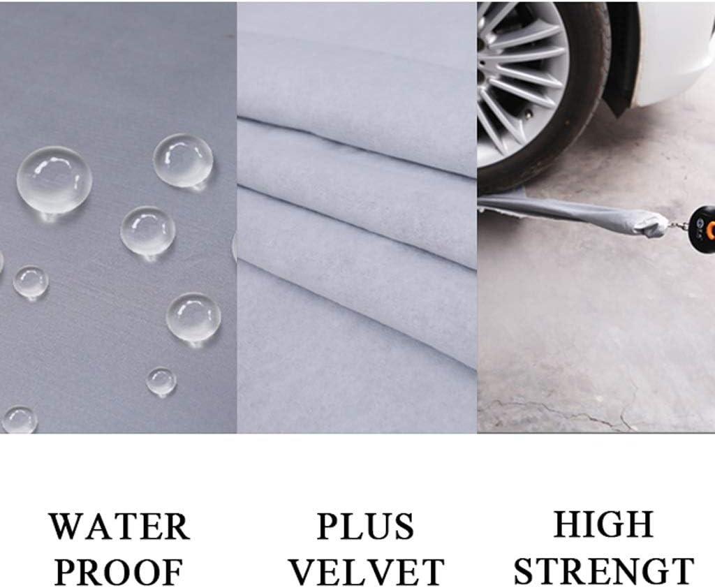 Color : Black, Size : XK8 PKMMQ Plus Velvet Car Cover Compatible With Jaguar XK XK8 XKR All Weather Waterproof UV Protected Flame Retardant Durable Plus Cashmere Car Cover