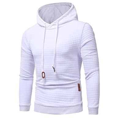 best loved 15728 3349c M-3XL ODRDღ Hoodie Männer Sweatshirt Herren Coat Sweater Outwear Sweatjacke  Parka Cardigan Lässige Mantel Kapuzenpulli Pulli Pullover Langarmshirts ...