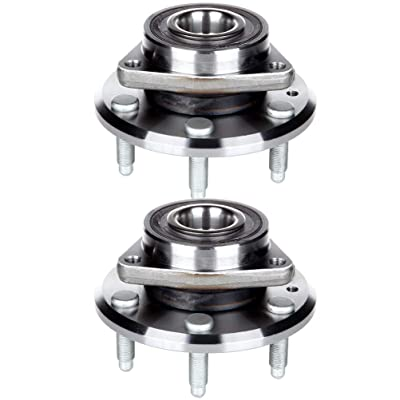 ANPART Replaces 513277 Front/Rear 6 Lugs Wheel Axle Bearing and Hub Assembly 2008-2016 Buick Enclave 2009-2016 Chevrolet Traverse Wheel Hub and Bearing Kit(2 PCS): Automotive