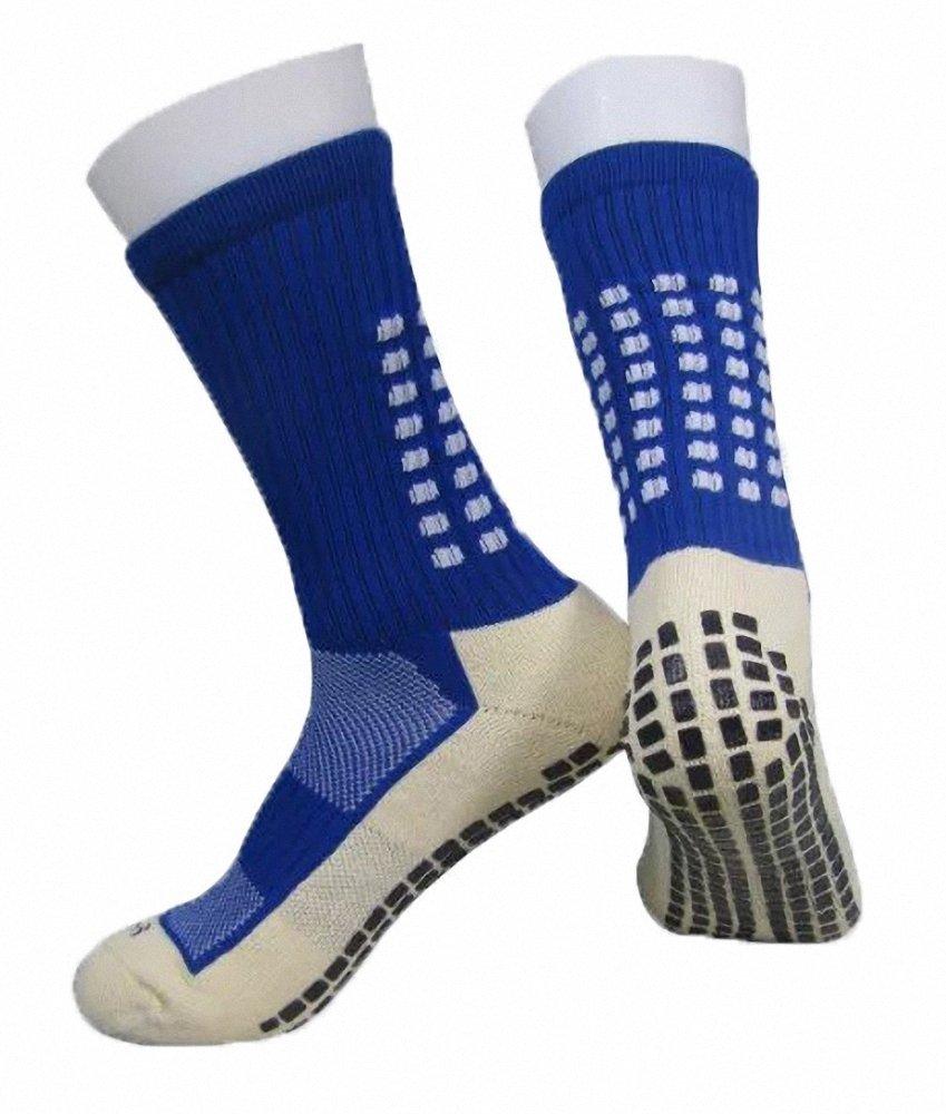 PreSox Unisex Sport verdicken Cushion Crew Socken mit Gummi Punkte für Baseball / Fußball / Futbol Shinguards ToBe-Unique