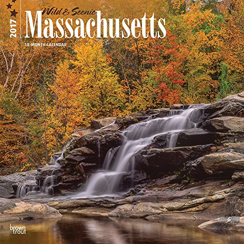 2017 Monthly Wall Calendar - Massachusetts, Wild & Scenic
