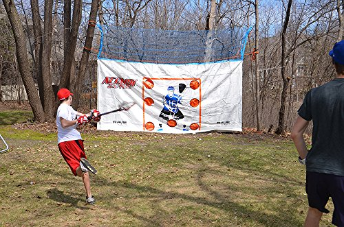 RAVE Sports Attack Zone 16' x 8' Lacrosse Shooting Tarp by RAVE Sports (Image #1)