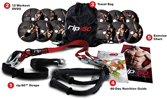 RIP 60 RIP60 - Resistance straps for fitness and fitness training ...