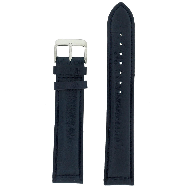 22 mm XL Extra Long Watch Band Navyブルー交換用時計ストラップメンズ  B01M1FAD3C