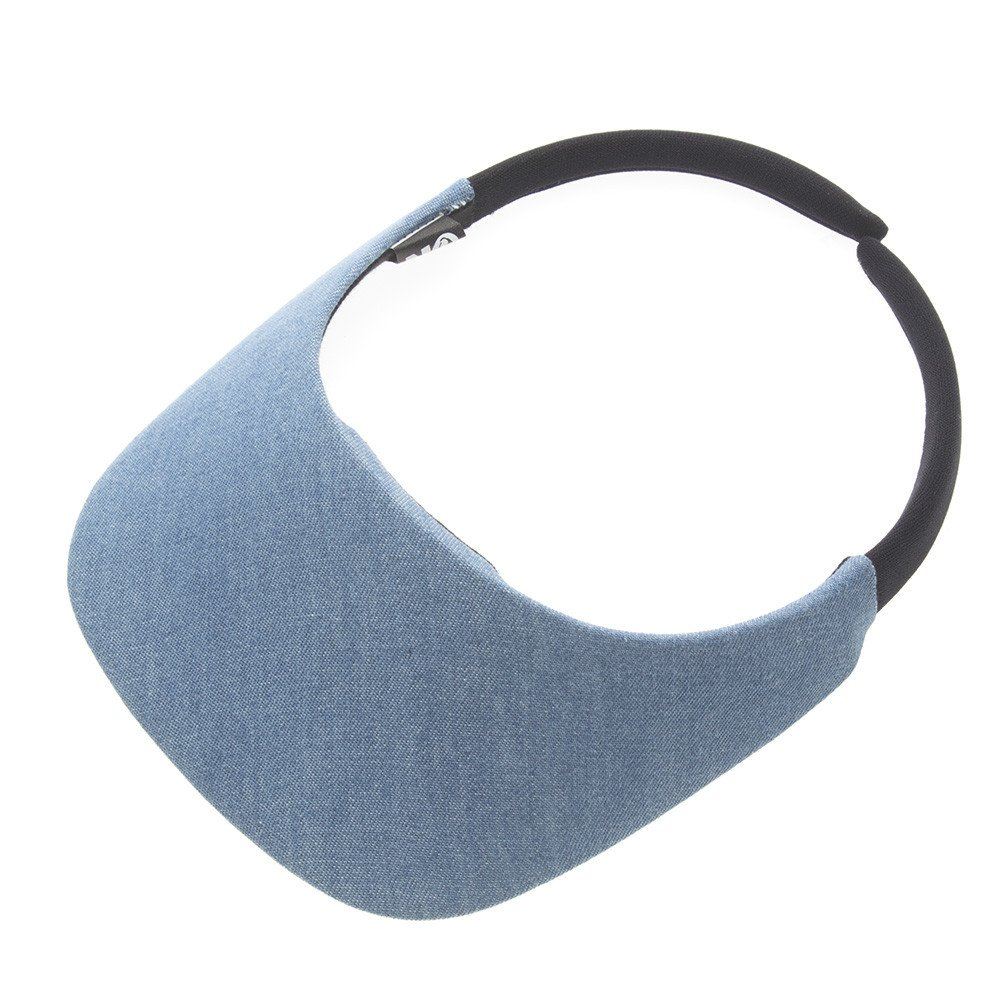 No Headache Original Visor (One Size, Denim) by No Headache (Image #1)