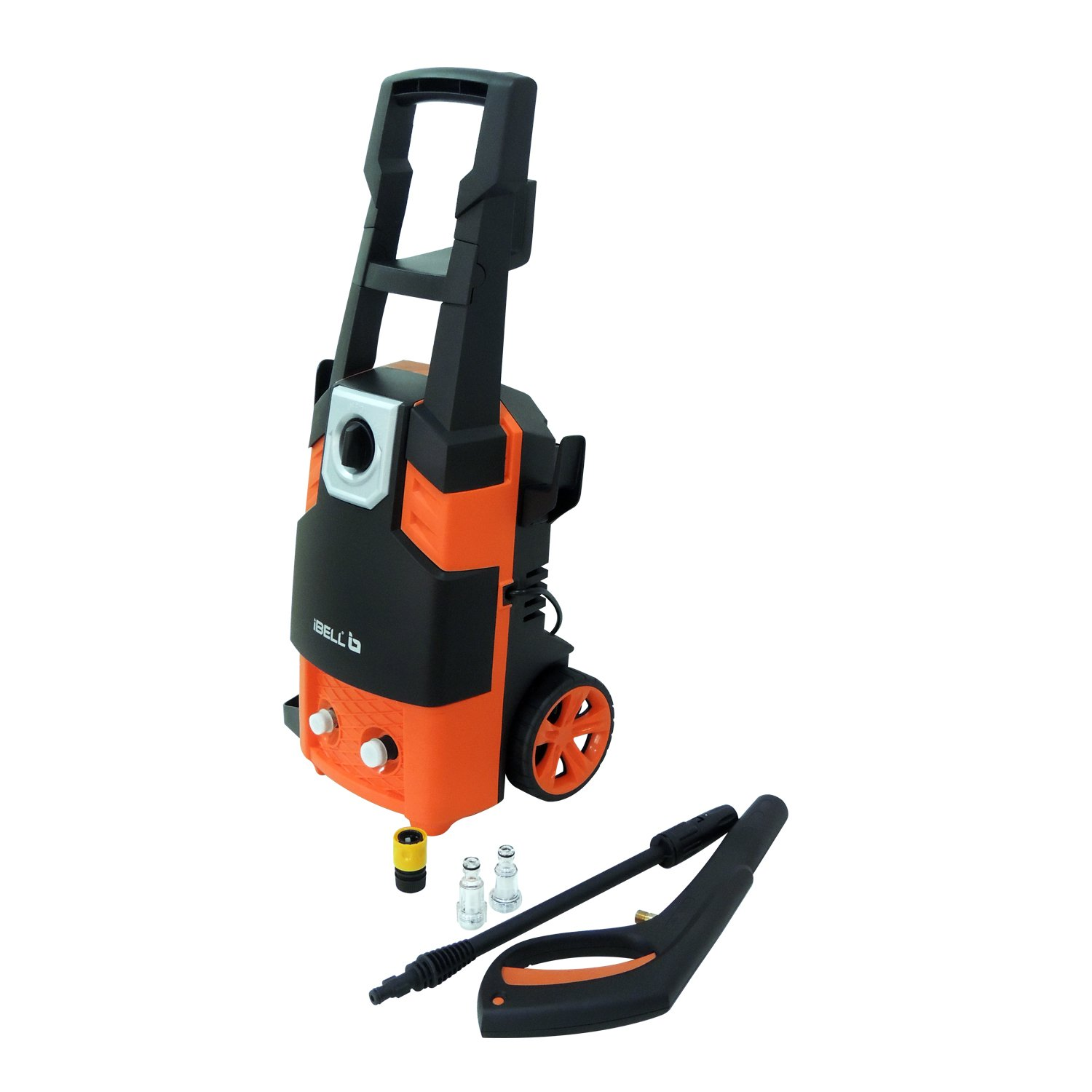 iBELL 1800-Watt Universal Motor Home and Car Pressure Washer (Black & Orange)