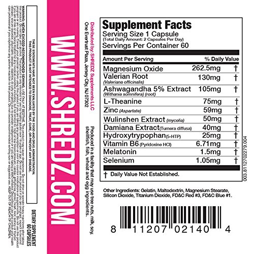 SHREDZ Limitless Supplement Stack for Women, Rebuild-PM + Focus, Boost Focus During the Day, Sleep Better at Night (30 Day Supply) by SHREDZ (Image #5)