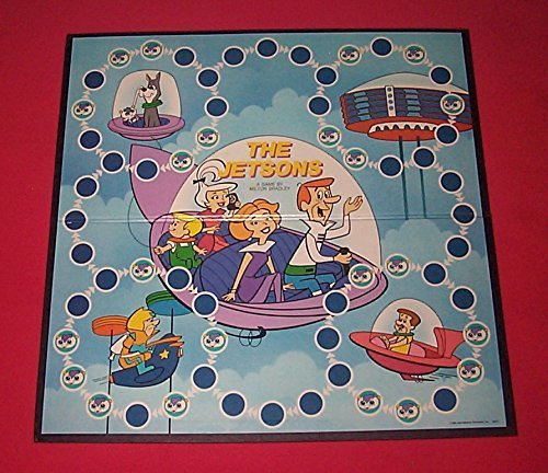 Viintage 1985 THE JETSONS GAME - A Race Through Space in Search of the Jetsons!]()