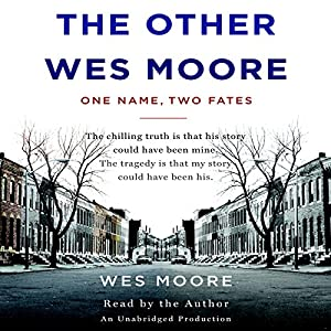 The Other Wes Moore Audiobook