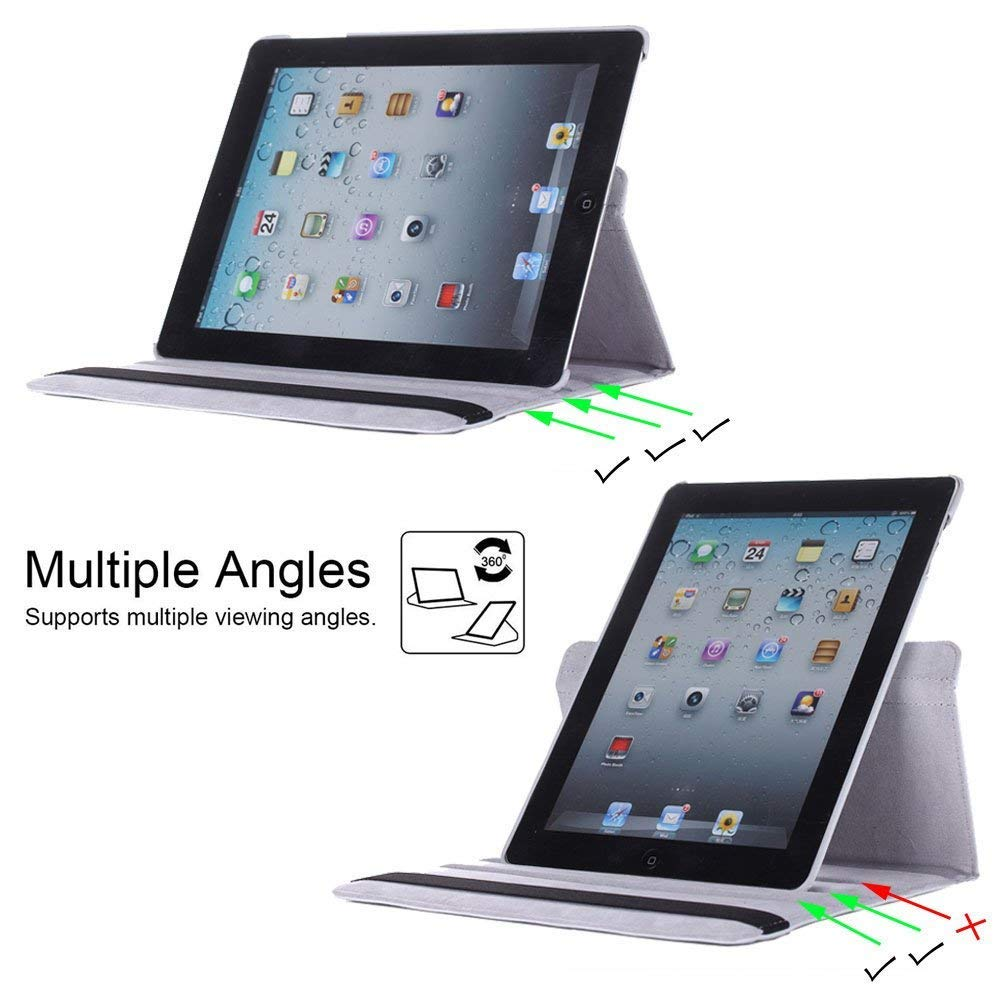 Computers & Accessories Accessories PU Leather Smart Stand Cover ...