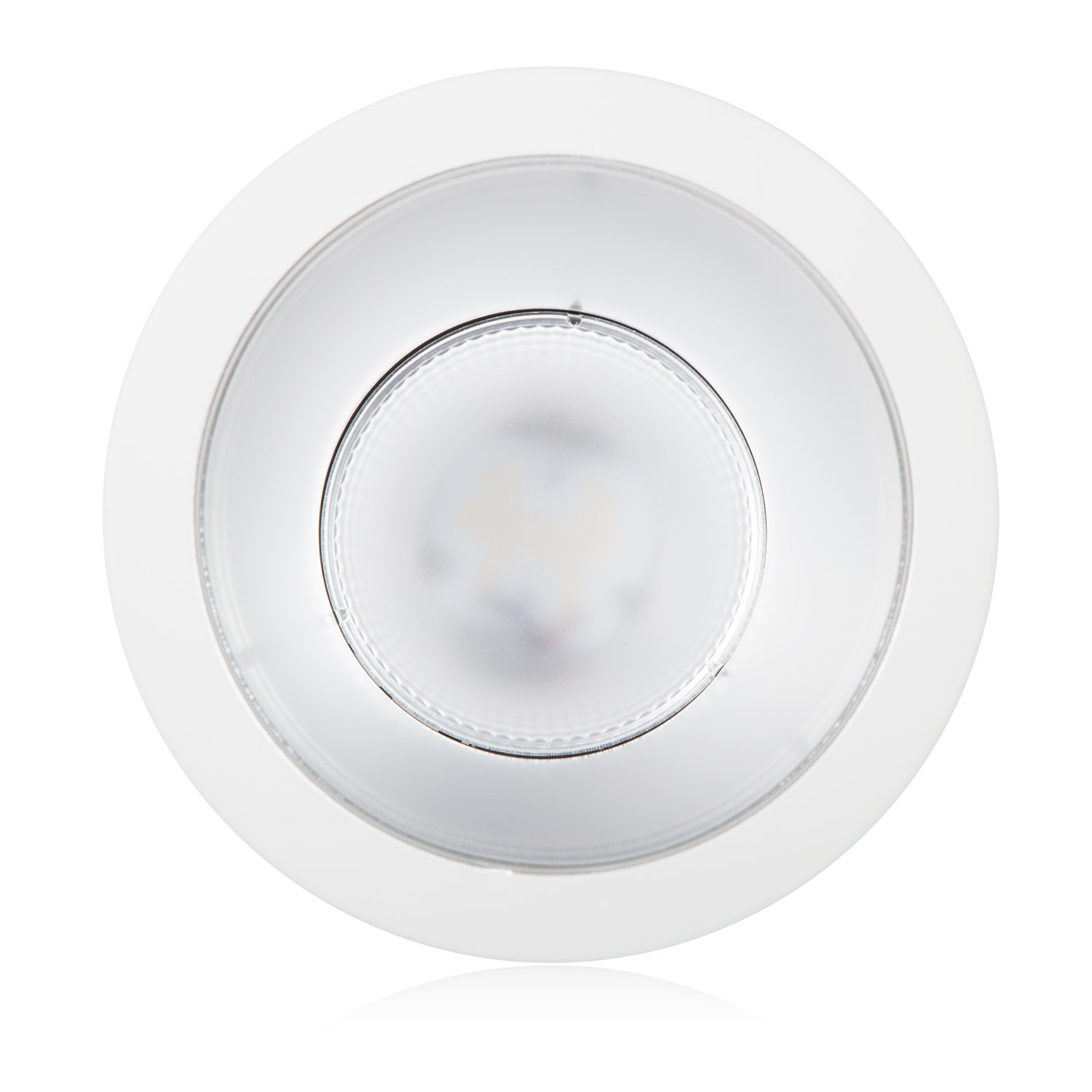 Maxxima 6 in. Commercial Recessed LED Downlight, Dimmable, 18 Watts, 1500 Lumens, 4000K Neutral White, Energy Star, Junction Box Included, Architectural Downlight (2 Pack) by Maxxima (Image #4)