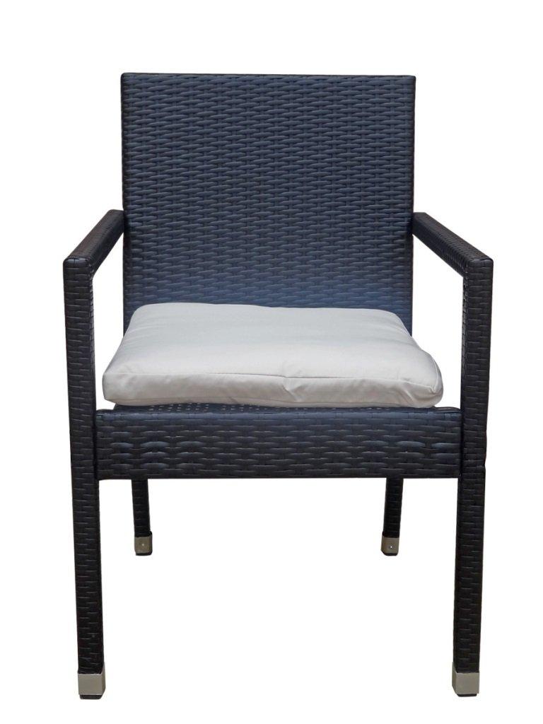 Amazon.de: Poly Rattan Sessel Stuhl Stühle Rattensessel Rattanstuhl ...