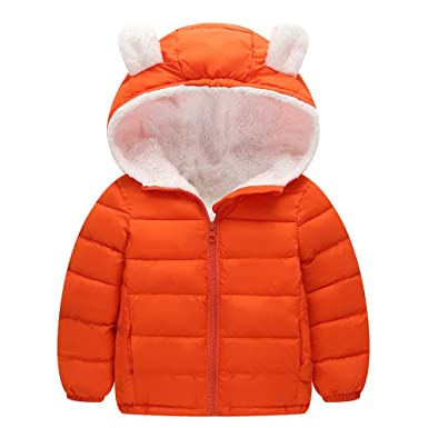 8a4522224 Zerototens Winter Coats Kids Hoods (Padded) Light Puffer Jacket Baby ...