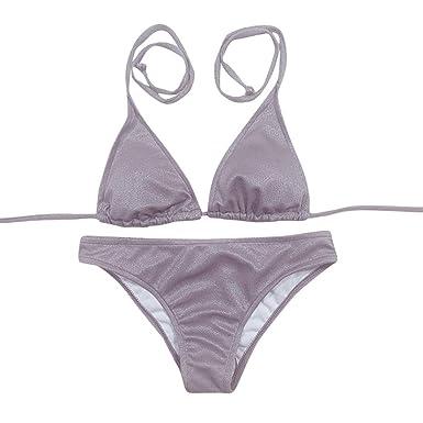 FAMILIZO Bikinis Mujer Push up Bra Bikini Verano Trajes de baño Tops y Braguitas Bikinis Conjuntos
