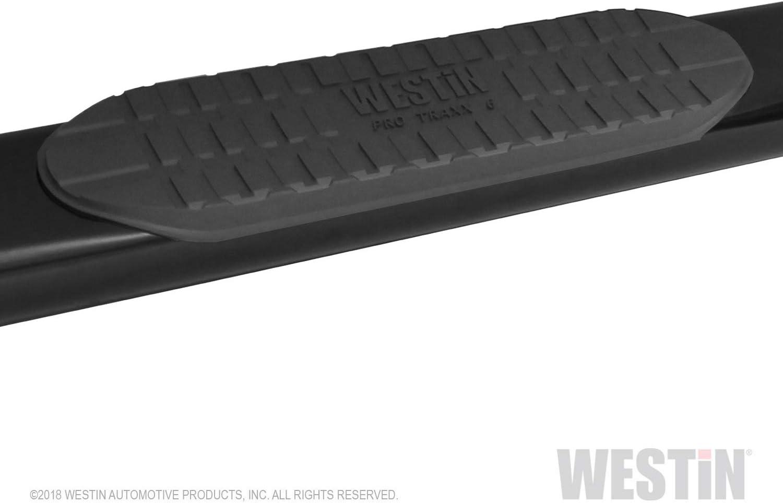 Westin 21-63565 Black 6 Pro Traxx Oval Step Bar