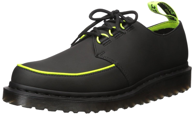 TALLA 43 EU. Dr. Martens Ramsey Alt Black Concept, Zapatos de Cordones Derby para Hombre