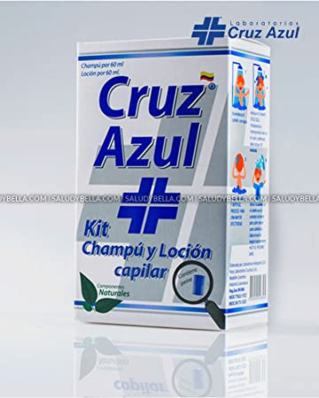 Cruz Azul Treatment Shampoo and Lotion for lice and nits Extremely Efective Guaranteed (Blue Cross