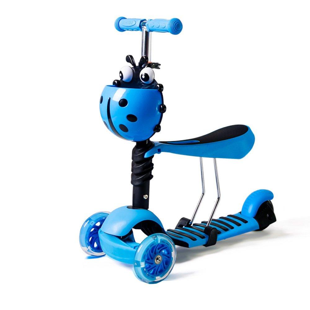 Niños Scooter - Diseño Versátil Para 1-10 Años De Edad,BlueB ...