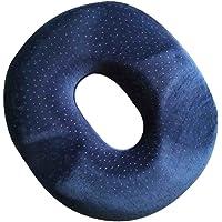 Baoblaze Memory Foam Donut Ring Cushion Pressure Relief Haemorrhoids Pile Cushion Pad