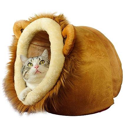 Casa de mascotas Cama para mascotas Cama de gato Lavable en la lavadora 3 tallas Adecuado
