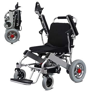 Amazon.com: SZeao - Silla de ruedas portátil y ligera ...