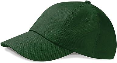 Beechfield Baseball Cap Low Profile Heavy Brushed Cotton Summer Hat