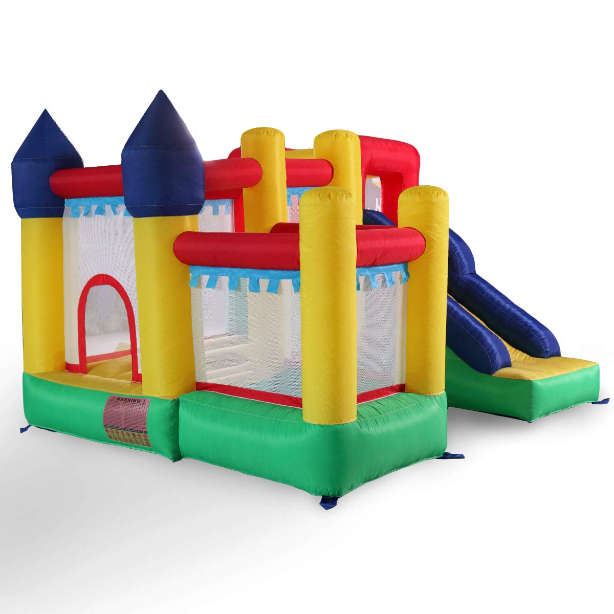 Kids Inflatable Bounce House Castle Jumper Slide Moonwalk Without Blower by BWM.Co (Image #4)