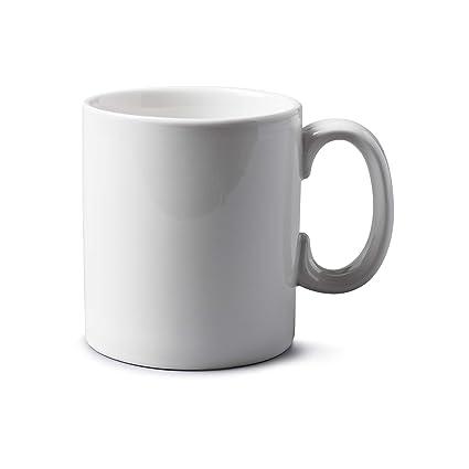 ba60eebe957 WM Bartleet & Sons 1750 T251 Traditional Porcelain Mug/Cup (1pt/568ml) –  White
