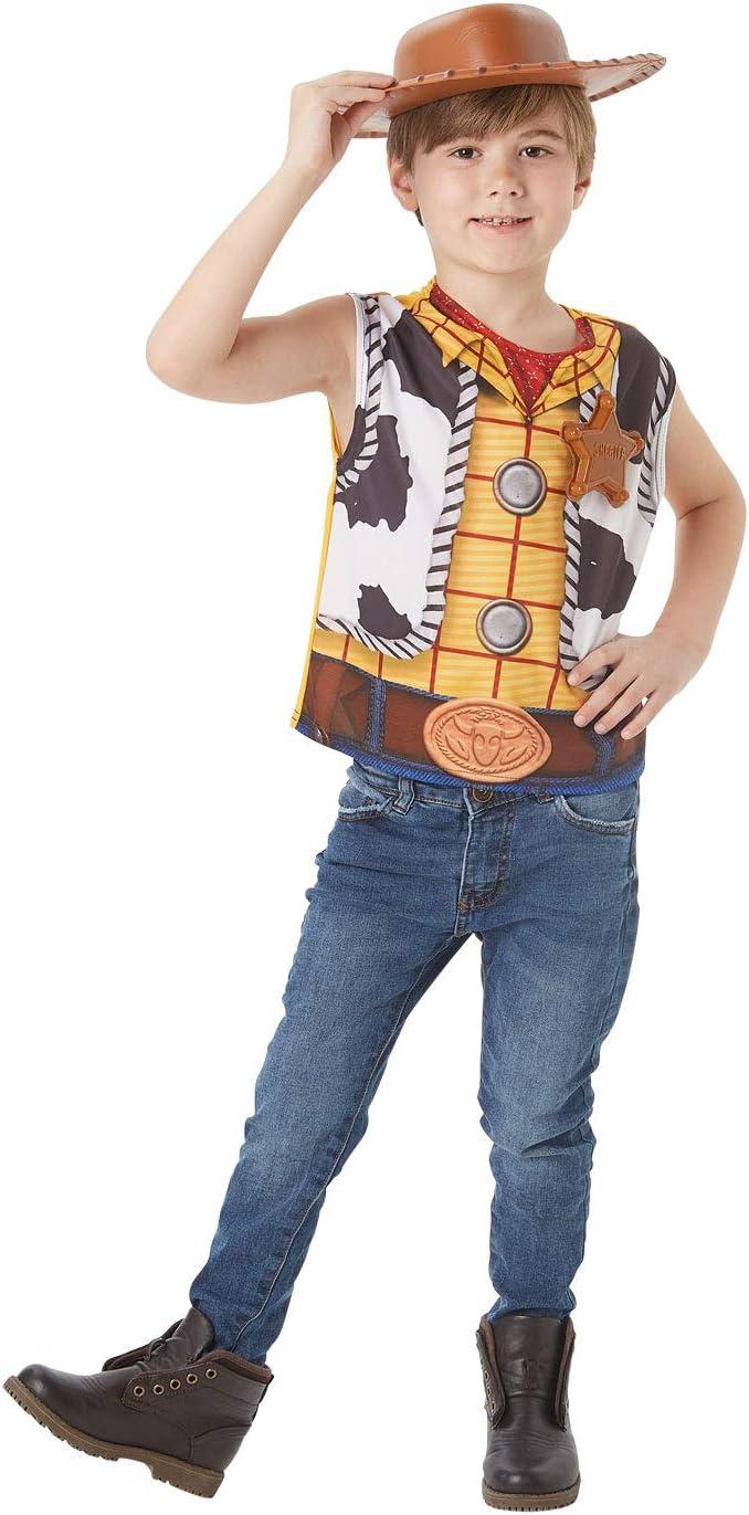 Rubies - Juego de disfraz oficial de Disney Toy Story 4, Woody ...