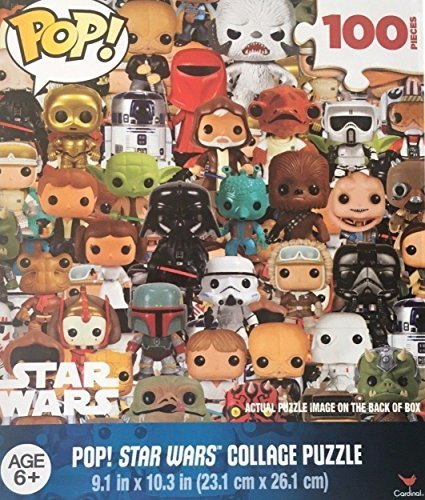 Pop dc pop! star wars collage 100pc puzzle