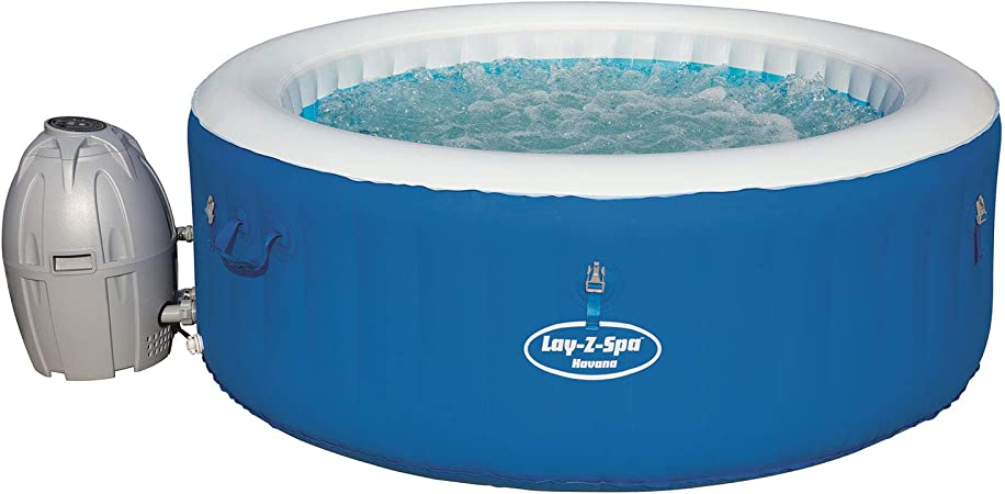 Bestway Lay- Z-Spa Havana Spa Hinchable: Amazon.es: Jardín