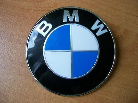Y Moto Coche Azul Logo Blanco Emblema 82mm Capo es Bm Amazon WCqvvpR