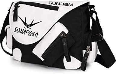 YOYOSHome Anime Mobile Suit Gundam Cosplay Handbag Cross-body Bag Messenger Bag Tote Bag Shoulder Bag