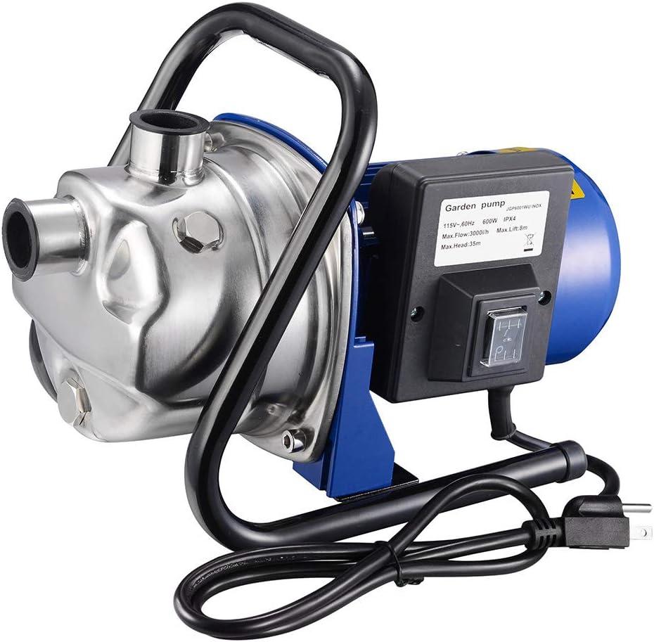Yescom 660GPH 1/4 HP Mini Portable Electric Transfer Utility Water Pump Waterbeds Aquariums Garden Hose Sprinkler Pump