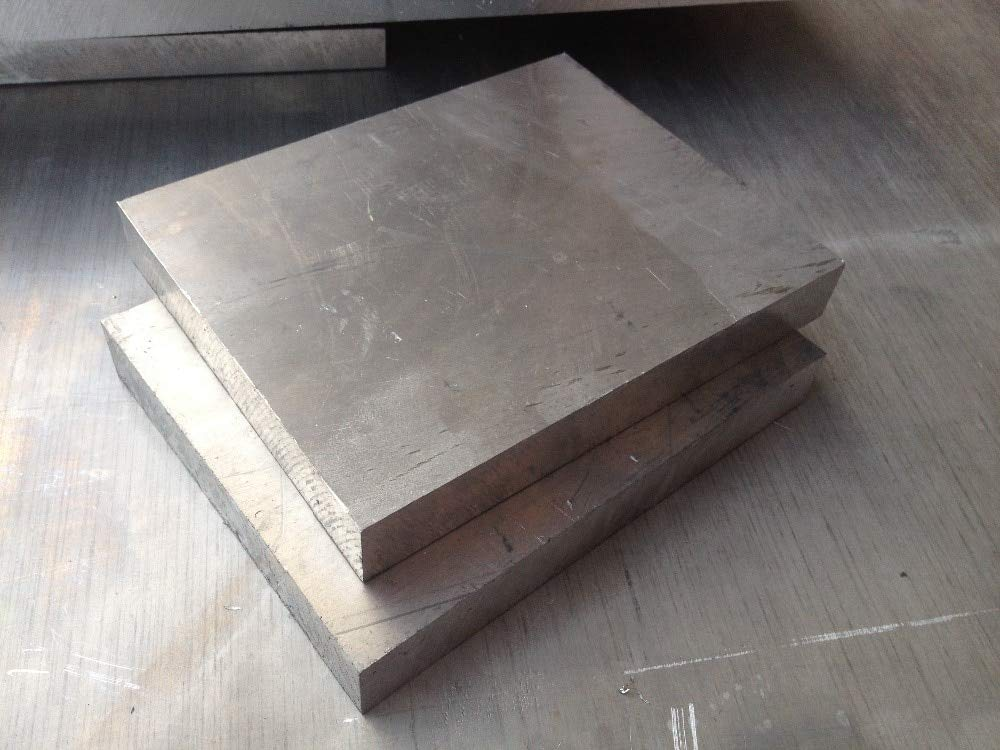 NJPOWER 6061 Aluminum Plate Aluminium Sheet 500mmx500mm Thickness 4mm 4x500x500 Aluminum Alloy DIY 1pcs