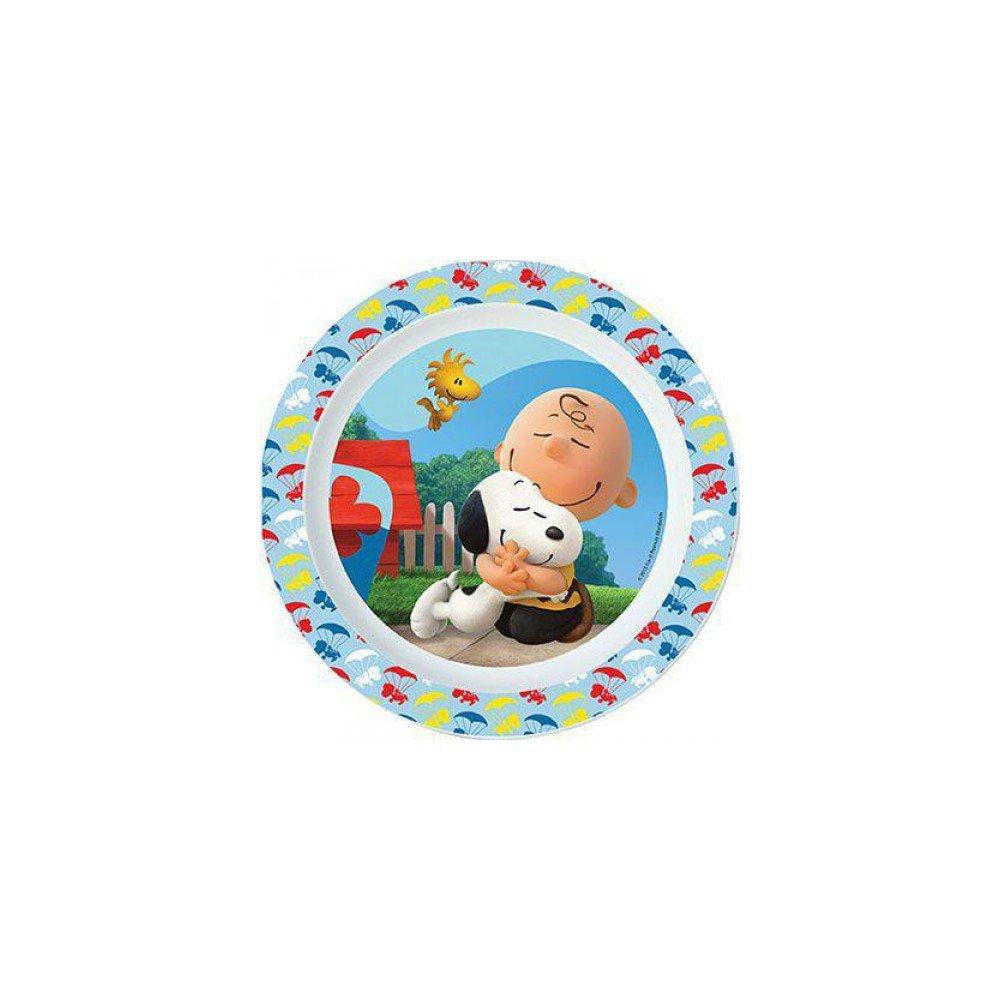 Plato de plastico para microondas kids Peanuts (12/48): Amazon.es ...
