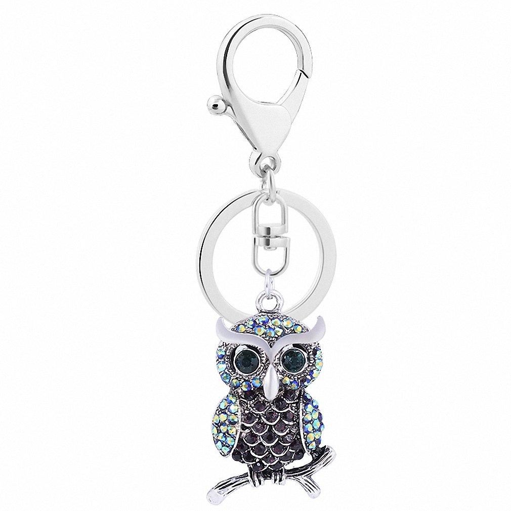 Amazon.com: Womens Vintage Owl Series Key Chains Fashion ...