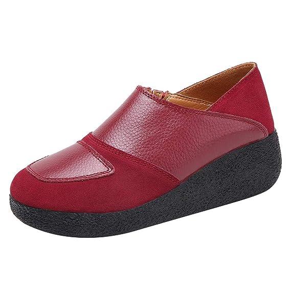 Luckycat Zapatos Mocasines Cómodos para Mujer Calzado de ...
