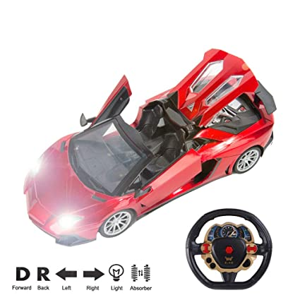 1/14 Scale Radio Remote Control Sport Racing Car Turbo Convertible Racer Electric RC Sports