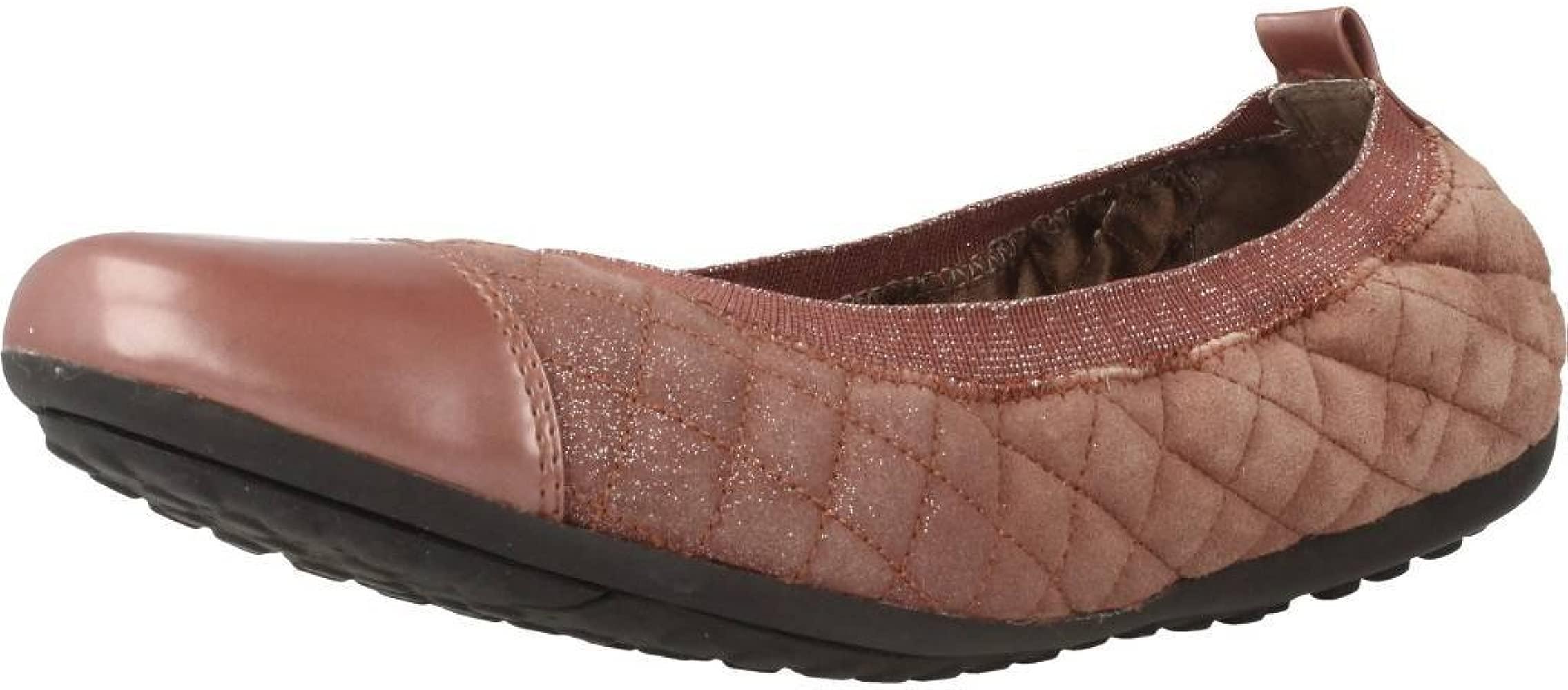 subasta Mujer hermosa herramienta  Zapatos Bailarina para Mujer, Color Rosa, Marca GEOX, Modelo ...