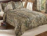 king camo quilt - Realtree Xtra Mini Comforter Set, Queen, Tan, Camo