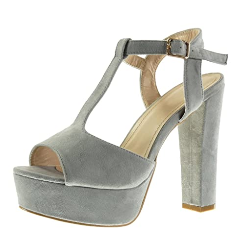 Argent Sexy Chaussures À Bout Ouvert Des Femmes Des Angkorly FzwDQo