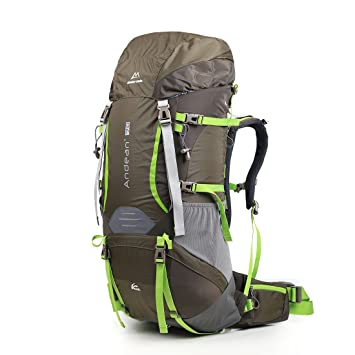 mountain-climbing mochila, profesional senderismo mochila gran capacidad 70L impermeable Mochila de senderismo (