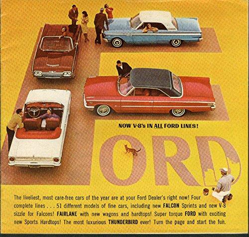 Torque Ford (Ford V-8 in Super Torque Ford & Fairlane & Falcon & Thunderbird brochure 1963)