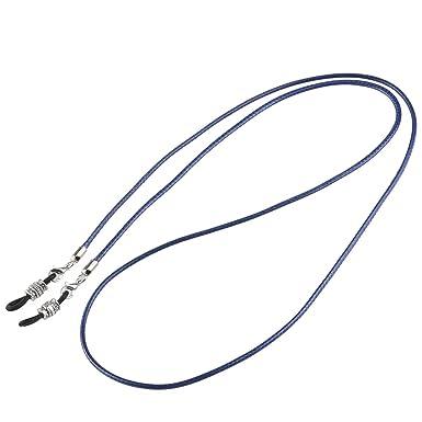 OULII Lunettes lunettes de soleil cordon cou sangle porte collier (bleu foncé) jI9ZUl9n