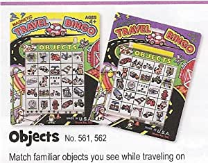 Magnetic Travel Bingo Objects w/Magnetic Pencil