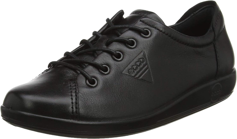 ECCO Soft 2.0, Zapatos de Cordones Derby Mujer