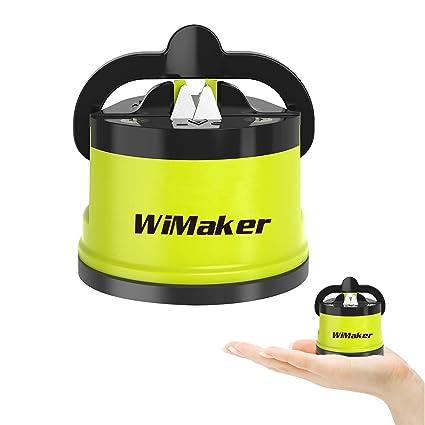 Wimaker, affilatrice indispensabile per la casa, mini coltello con  affilatura a pietra, utensile da cucina Green