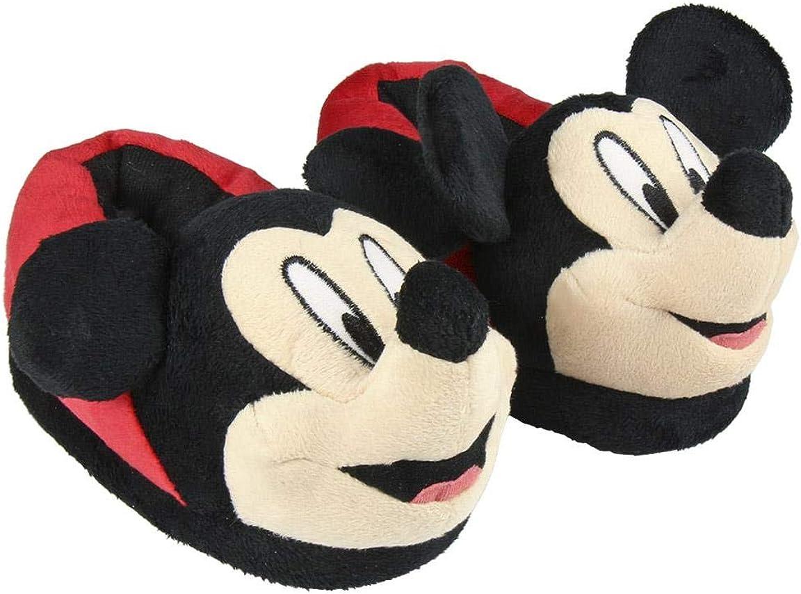 Cerd/á Zapatilla de casa 3D Mickey Mouse para ni/ño 2300004415